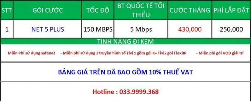 Lap Mang Viettel Bien Hoa K+