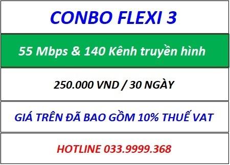 Combo Flexi 3