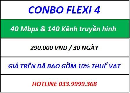 Combo Flexi 4