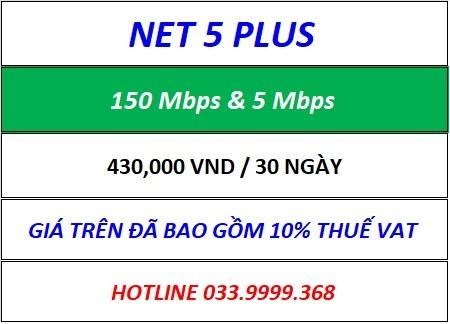 Net 5 Plus