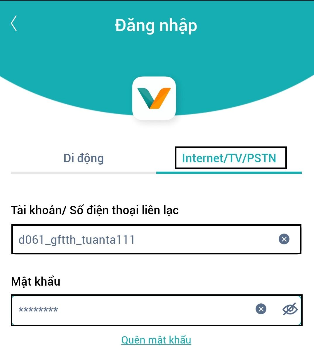 Nhap User Pass