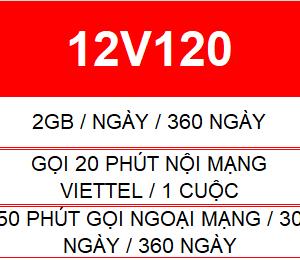 12v120 Viettel