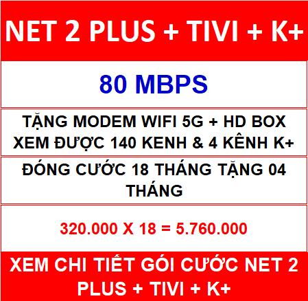 Combo Net 2 K+ 18 Th