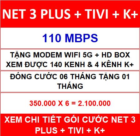 Combo Net 3 Tivi K+ 06 Th