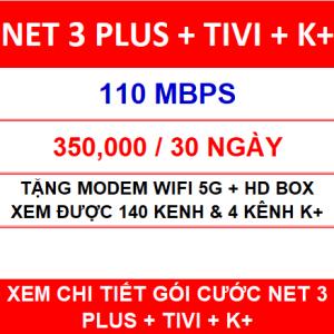Combo Net 3 Tivi K+