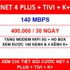 Combo Net 4 Tivi K+