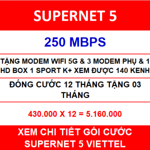 Combo Supernet 5 12 Th