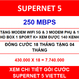 Combo Supernet 5 18 Th