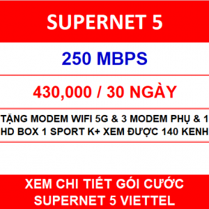 Combo Supernet 5