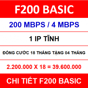 F200 Basic 18 Th