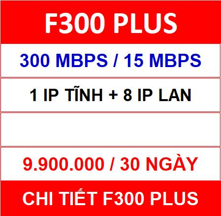 F300 Plus