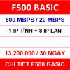 F500 Basic