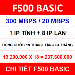 F500 Basic 18 Th