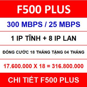 F500 Plus 18 Th