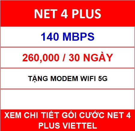 GÓi CƯỚc Net 4 Plus