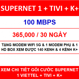 Supernet 1 + Tivi + K+