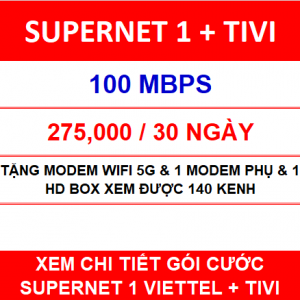Supernet 1 Viettel Tivi