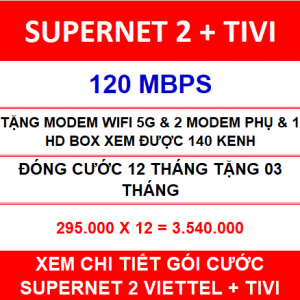 Supernet 2 + Tivi 12 Th