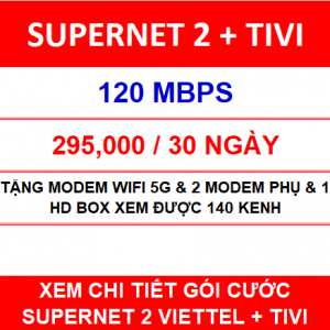 Supernet 2 + Tivi