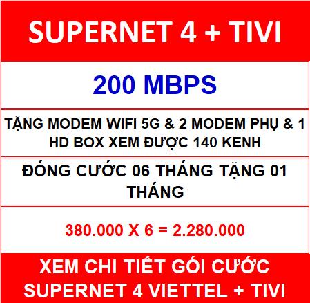 Supernet 4 + Tivi 06 Th