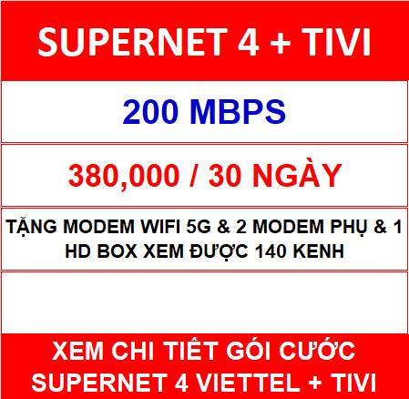 Supernet 4 + Tivi