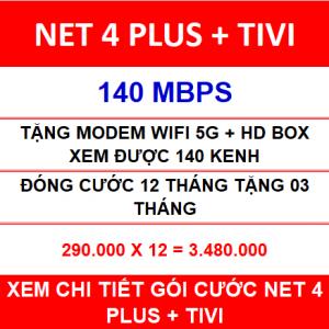 Combo Net 4 Viettel 12 Th
