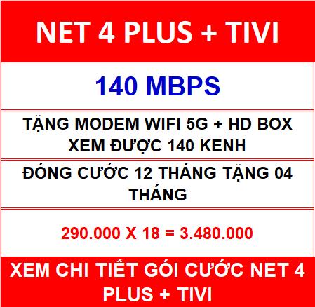 Combo Net 4 Viettel 18 Th