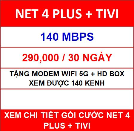 Combo Net 4 Viettel
