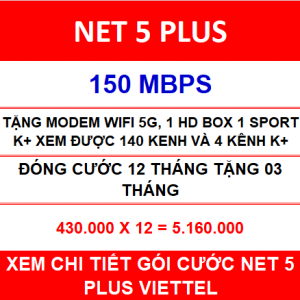 Net 5 Plus Viettel 12 Th