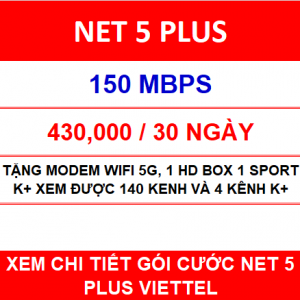 Net 5 Plus Viettel