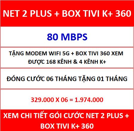Net 2 Plus Box Tivi K+ 360 06 Th
