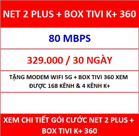 Net 2 Plus Box Tivi K+ 360