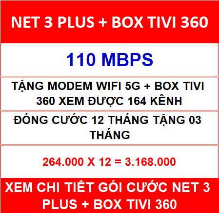 Net 3 Plus Box Tivi 360 12 Th