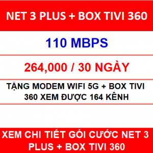 Net 3 Plus Box Tivi 360