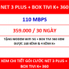 Net 3 Plus Box Tivi K+ 360