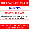 Net 4 Plus Box Tivi 360