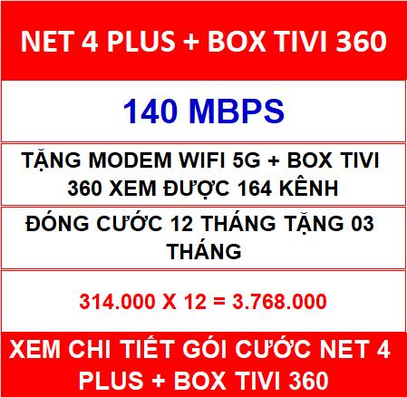 Net 4 Plus Box Tivi 360 12 Th
