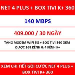 Net 4 Plus Box Tivi K+ 360