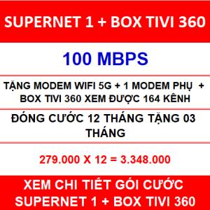 Supernet 1 Box Tivi 360 12 Th