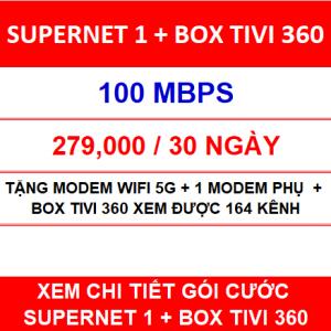 Supernet 1 Box Tivi 360