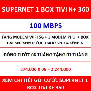 Supernet 1 Box Tivi K+ 360 06 Th