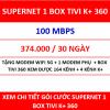 Supernet 1 Box Tivi K+ 360