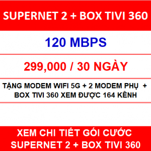 Supernet 2 Box Tivi 360