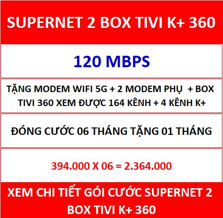 Supernet 2 Box Tivi K+ 360 06 Th