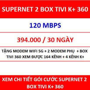 Supernet 2 Box Tivi K+ 360