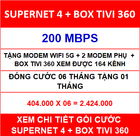 Supernet 4 Box Tivi 360 06 Th