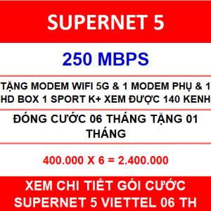 Supernet 5 Viettel 1 Home Wifi 06 Th