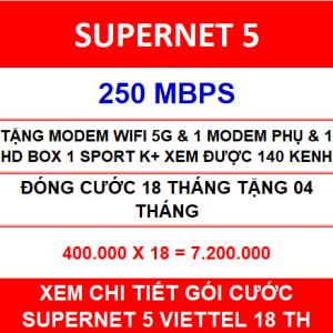 Supernet 5 Viettel 1 Home Wifi 18 Th