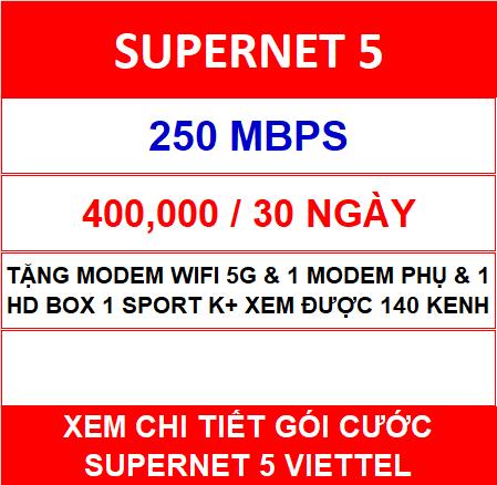 Supernet 5 Viettel 1 Home Wifi
