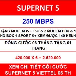 Supernet 5 Viettel 2 Home Wifi 06 Th
